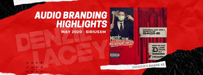 SiriusXM Imaging Highlights - May 2020